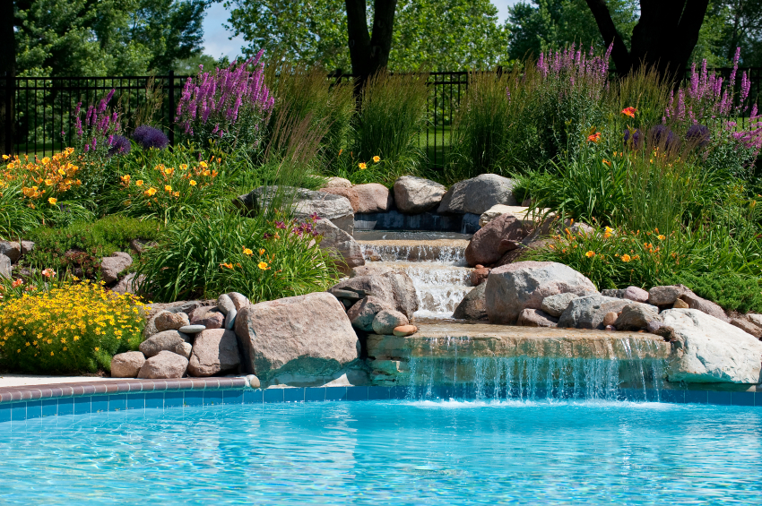 Backyard pool makeover ideas backyard ideas pinterest for Backyard makeover with pool